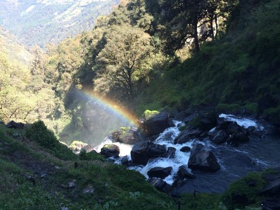 Cascadas Quetzalapan: Si hay buen sol...