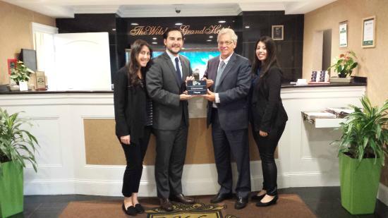 The Wilshire Grand Hotel: 2014 Expedia Select Award