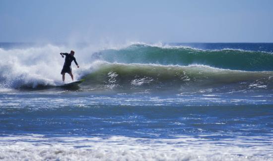 Nosara, Kosta Rika: Excelentes olas para el surf