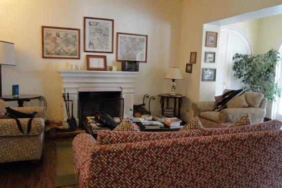 Hostal de la Rabida: Living Room
