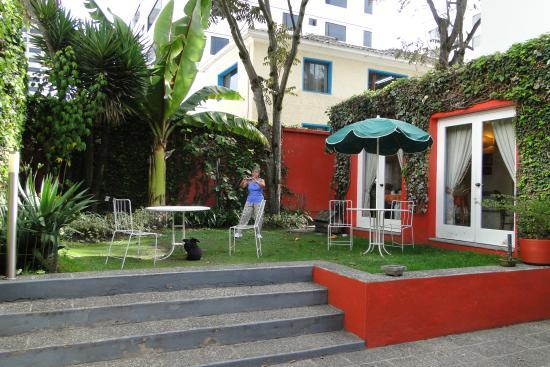 Hostal de La Rabida: Garden
