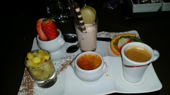 HÖTEL RESTAURANT L'HOTAN : variations de desserts