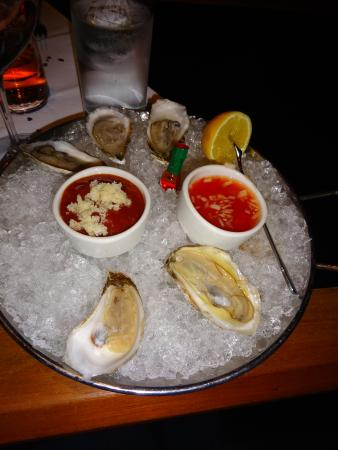 J. Gilbert's Wood-Fired Steaks & Seafood: Delicious oysters