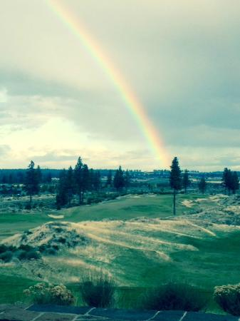 Tetherow Golf Club: Even stormy days can be beautiful.