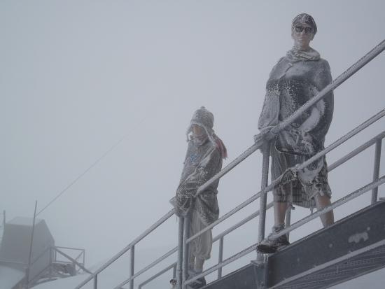Skywalk Dachstein: Kalt