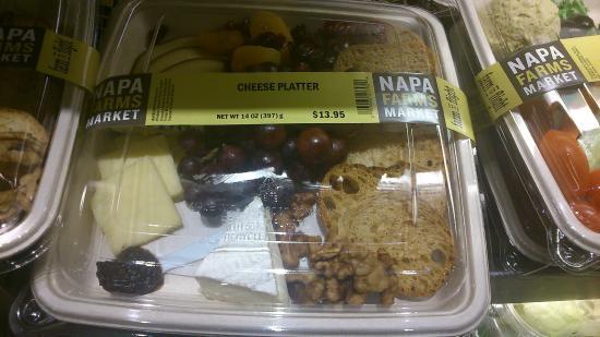 Napa Farms Market: GRAB PLATE FOR FLIGHT