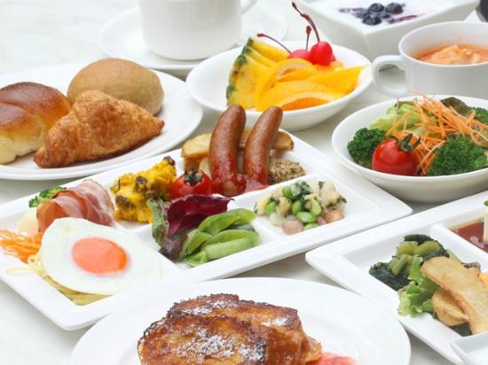 バイキングレストラン エルバージュ 朝食 那須町 ホテル