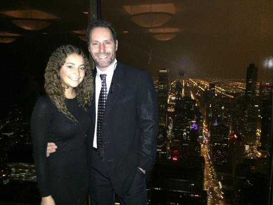 95 floors up - Picture of The Signature Room at the 95th, Chicago ...