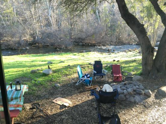Three Rivers, CA: View from our RV