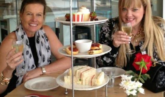 Tedder and Woodroffe: High Tea and Bubbles