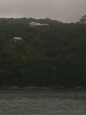 Cabanas do Araca Villa : Vista maravilhosa da cabana de quem olha do mar