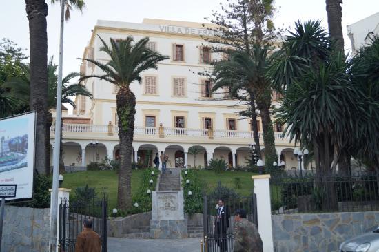 Grand Hotel Villa De France Front Of Vdf