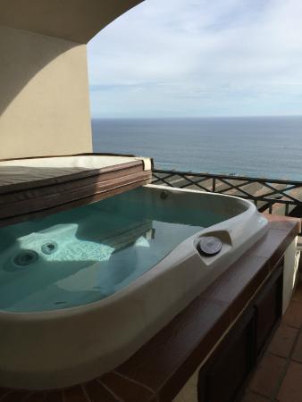 Pueblo Bonito Sunset Beach Golf Spa Resort Hot Tub On The Deck Presidential