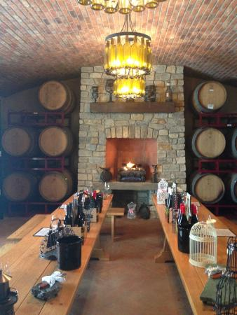 Magnus Ridge Winery : Wine Tasting Room
