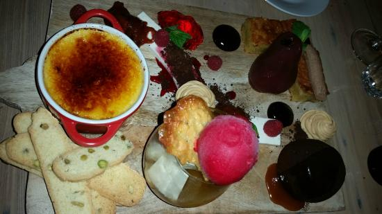 Tedder and Woodroffe: Dessert Sharing Platter
