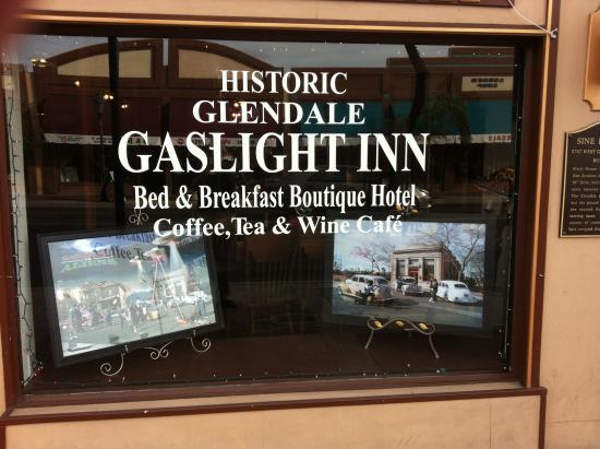 Gas Light Inn : From Glendale Ave.