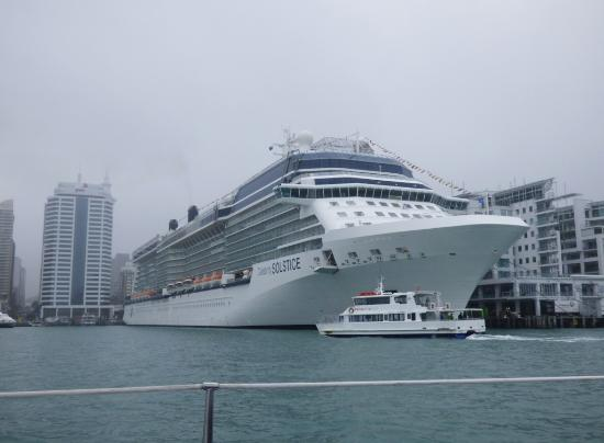 Passing Cruise Ship Dock Picture Of Explore Auckland Harbour - Docked cruise ship