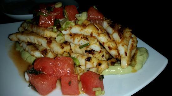 Cuda Bar and Restaurant: Squid