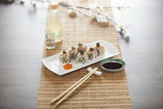 Hatsuhana Japanese Restaurant: Duck Roll Sushi