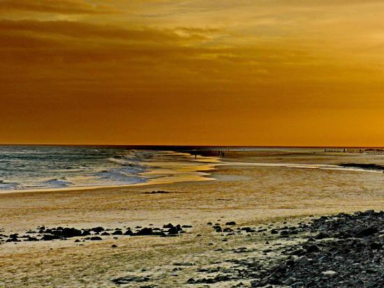 Iberostar Playa Gaviotas Park: Playa del hotel al atardecer