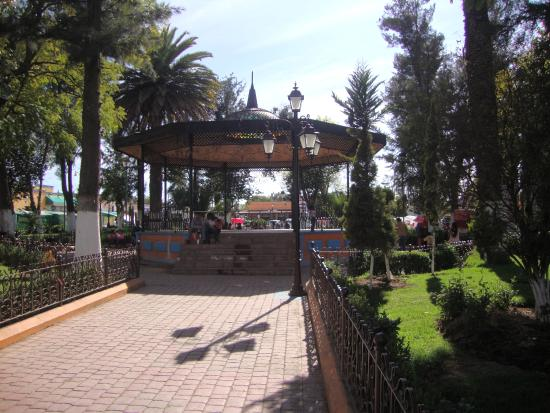 Otumba, México: Plaza central