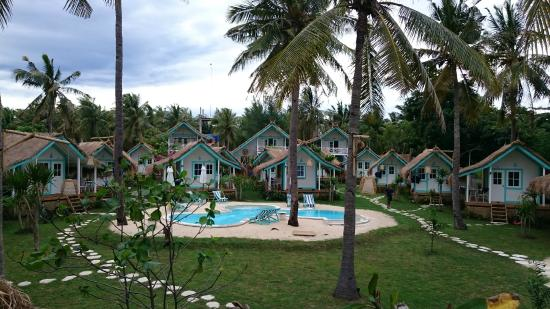 Le Pirate Beach Club Gili T Hotel Outdoor Area