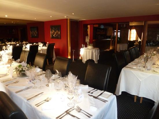 ... Baby Shower At Chapters Hotel. Chapters Hotel And Restaurant: Restaurant  Set For Wedding Anniversary