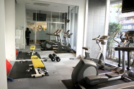 Citadines Shinjuku Tokyo: 健身房