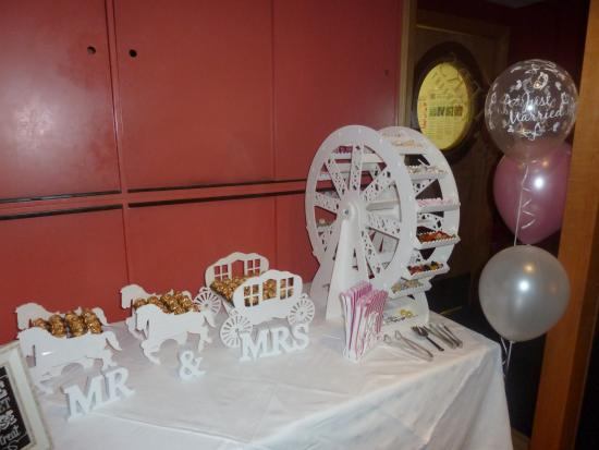 The Wedding Reception Candy Table Picture Of Chapters Hotel And