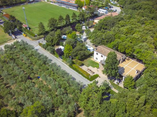 Camping Boschetto Di Piemma: Aerea Ristorante