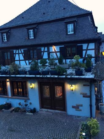 Le Cerf : Das Restaurant am Abend