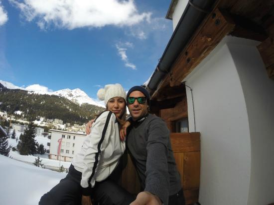 Arabella Hotel Waldhuus Davos: Vista habitación