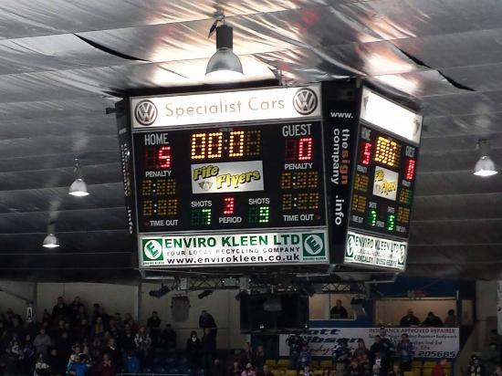 Fife Ice Arena: The winning score