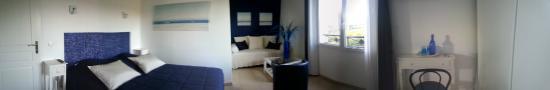Vieille-Toulouse, France: chambre paradis blanc