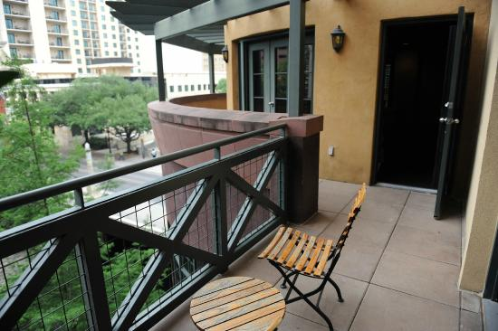 Hotel Valencia Riverwalk Presidential Suite Balcony Picture Of