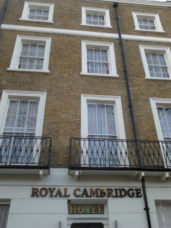 The Royal Cambridge Hotel : Fachada del hotel