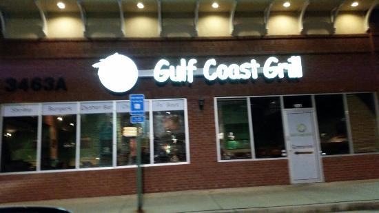 Exterior view Gulf Coast Grill