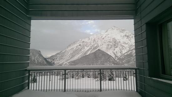 Olympic Center: Vista dal balcone