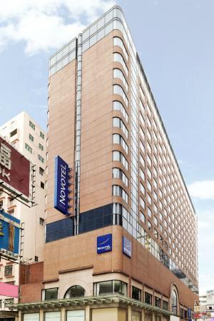 Hotel Entrance - Picture of Novotel Hong Kong Nathan Road