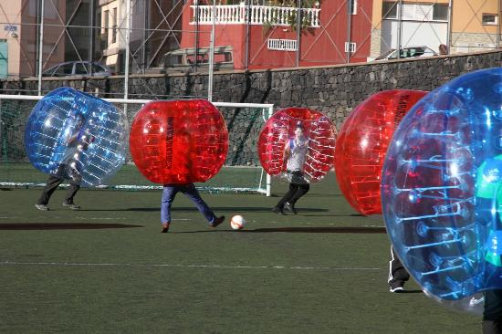 Bubble Soccer Tenerife