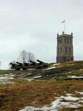 Castle Rock Tower: Башня и пушки