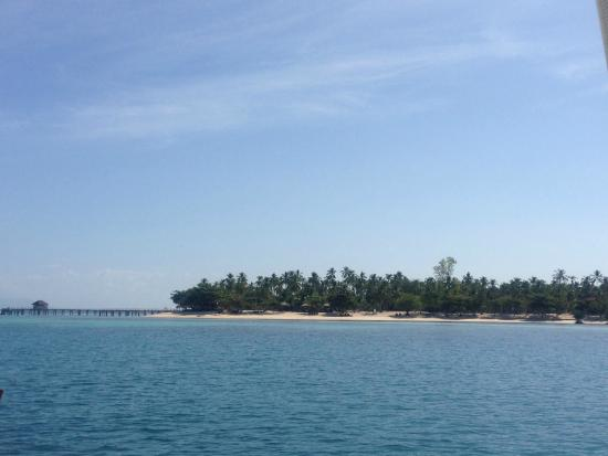 Dos Palmas Island Resort & Spa: The island upon arrival