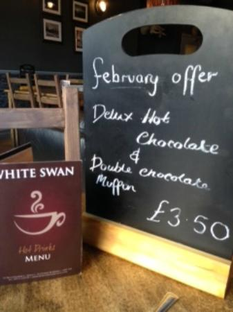 The Coffee House: Reasonable prices & tempting offers