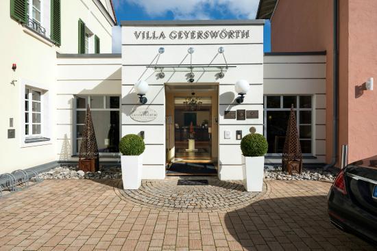 Villa Geyerswörth Hotel: Eingang