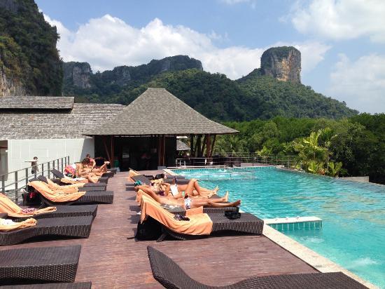 Railay Princess Resort and Spa: Pool area