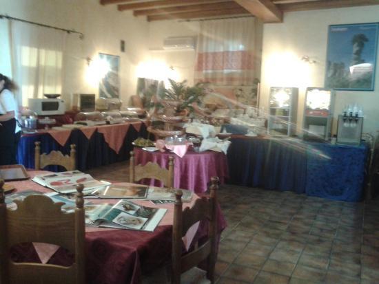 Hotel La Conchiglia: sala colazione