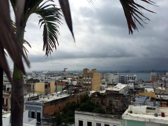 La Terraza de San Juan : Roof top terrace