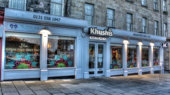 Khushi S Indian Restaurant Edinburgh Uk