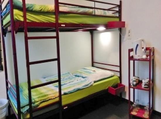 Arena Hostel Hamburg : Mehrbettzimmer
