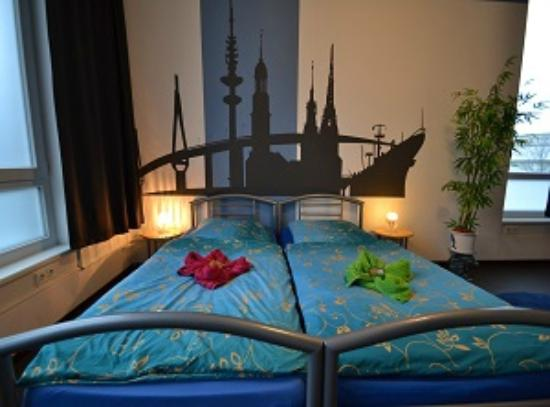 Arena Hostel Hamburg: Doppelzimmer